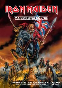 Cover Iron Maiden - Maiden England '88 [DVD]